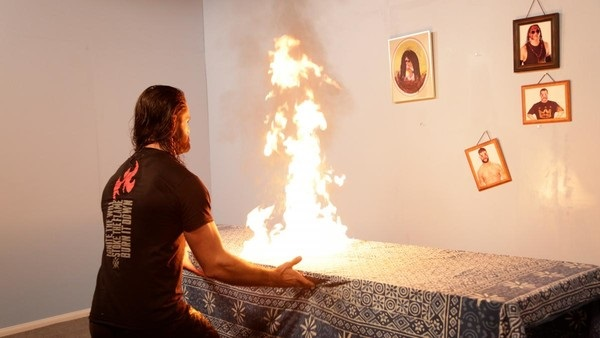 Seth Rollins Finally Burns the Firefly Fun House Down