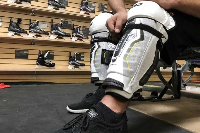 Find out the best quality of hockey shin pads