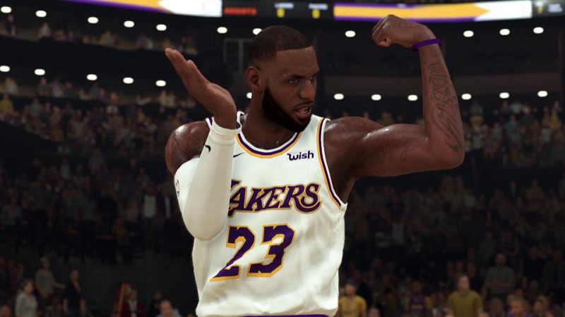 The Game of NBA 2K20