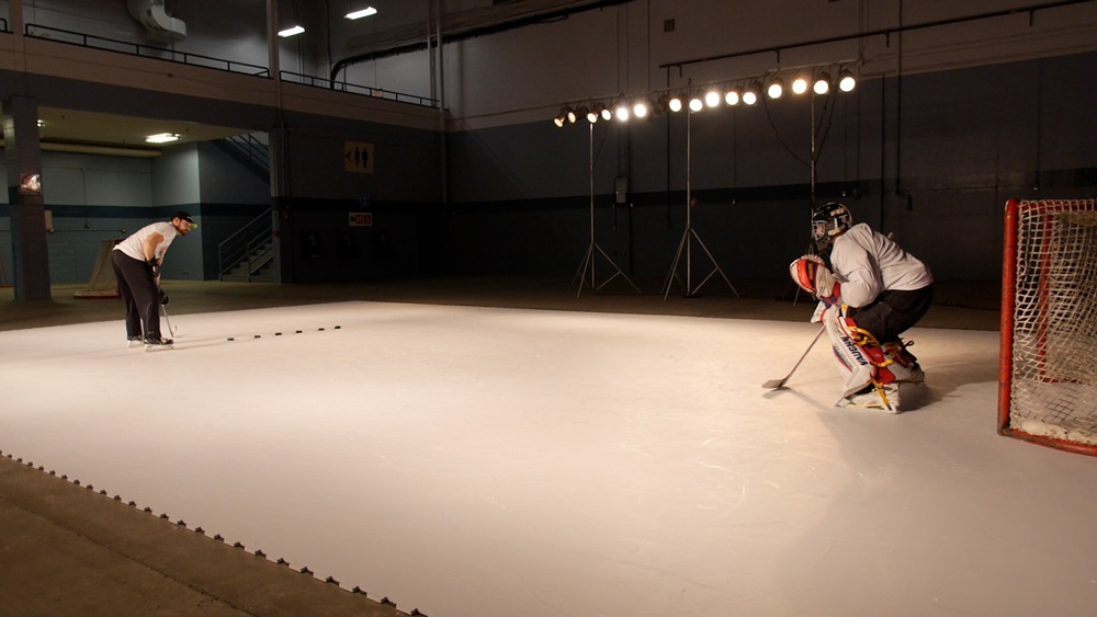 Off-Ice Shooting Drills for Synthetic Ice