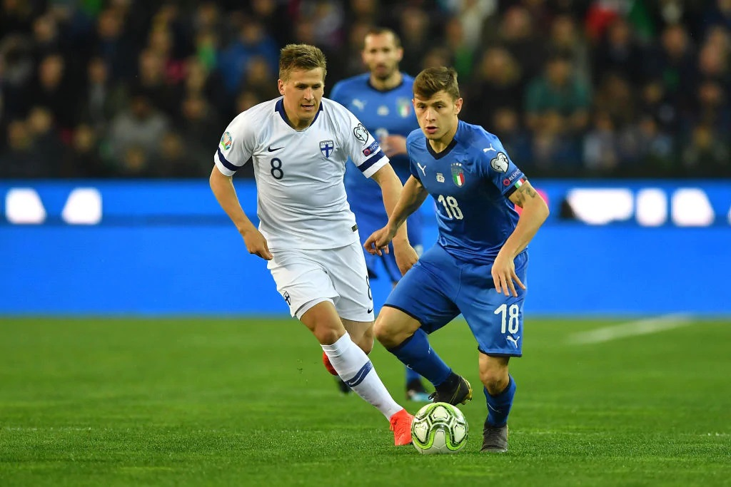 Barella Becomes One Of The Hottest Prospects In Italy